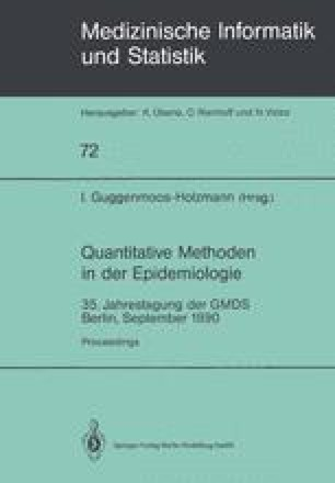 Quantitative Methoden in der Epidemiologie