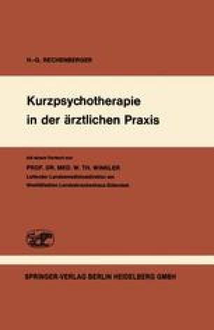 Kurzpsychotherapie in der ärztlichen Praxis