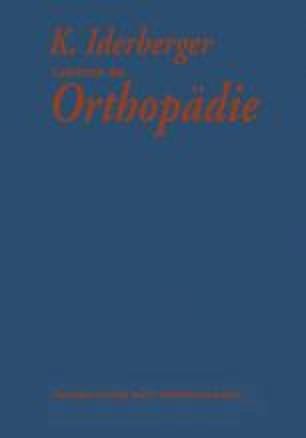 Lehrbuch der Orthopädie