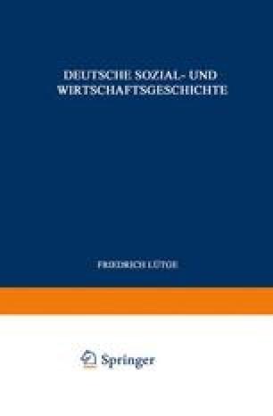 Deutsche Sozial- und Wirtschaftsgeschichte