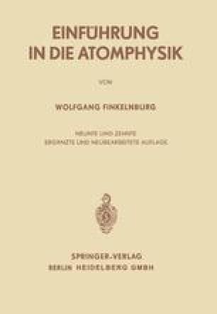 Einführung in die Atomphysik