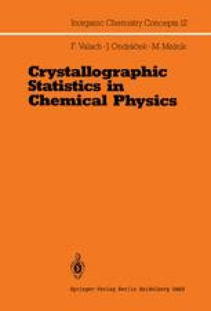 Crystallographic Statistics in Chemical Physics
