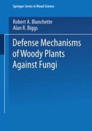 Defense Mechanisms of Woody Plants Against Fungi