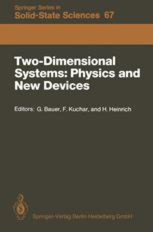 Two-Dimensional Systems: Physics and New Devices