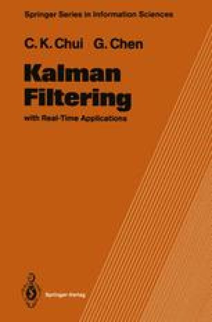 Extended Kalman Filter and System Identification | SpringerLink
