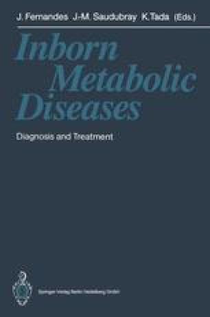 Inborn Metabolic Diseases