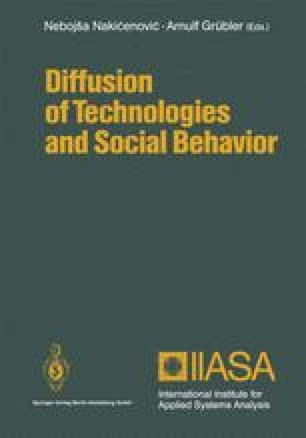 Diffusion of Technologies and Social Behavior