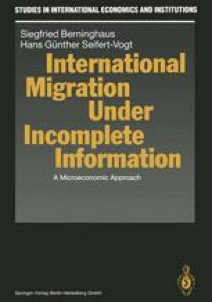 International Migration Under Incomplete Information