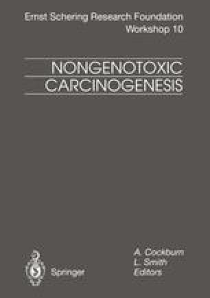 Nongenotoxic Carcinogenesis