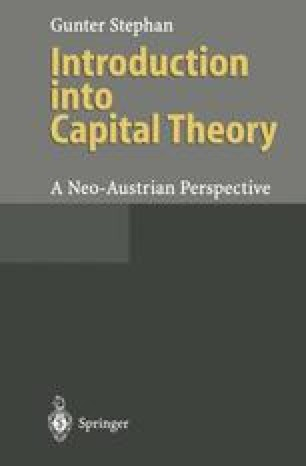 Introduction into Capital Theory