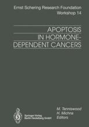Apoptosis in Hormone-Dependent Cancers