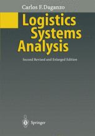 Logistics Systems Analysis