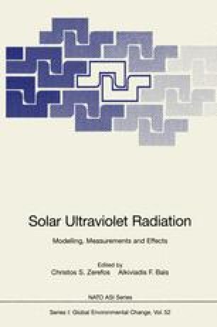 Solar Ultraviolet Radiation