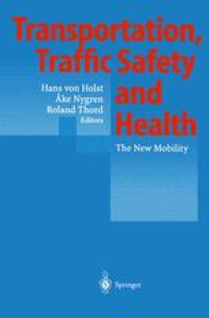 Transportation, Traffic Safety and Health
