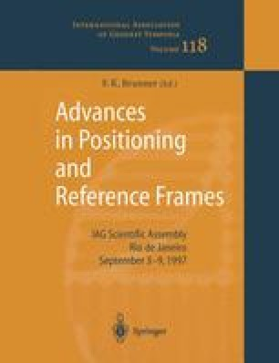 Advances in Positioning and Reference Frames