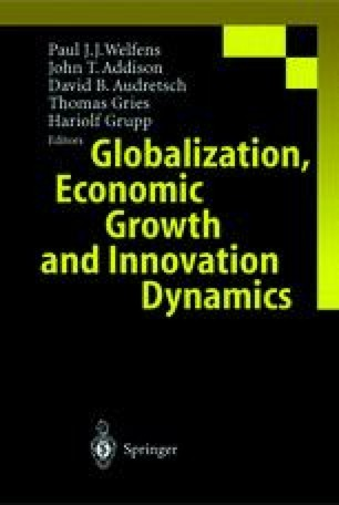 Globalization, Economic Growth and Innovation Dynamics