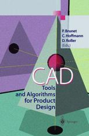 CAD Tools and Algorithms for Product Design