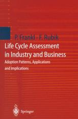Life Cycle Assessment in Industry and Business