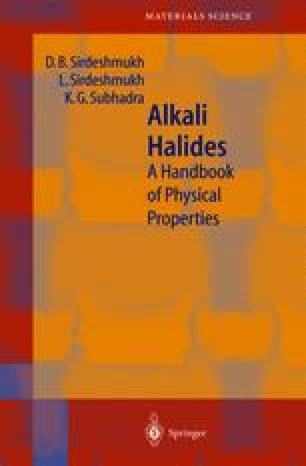 Alkali Halides