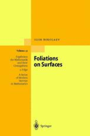 Foliations on Surfaces