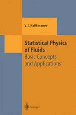Statistical Physics of Fluids
