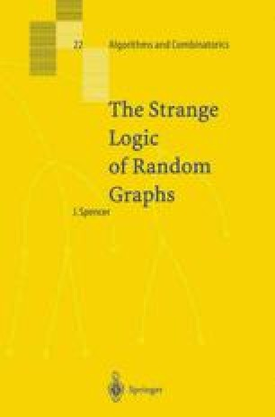 The Strange Logic of Random Graphs