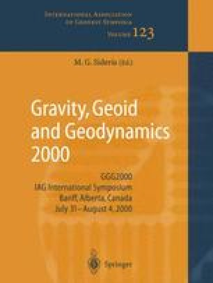 Gravity, Geoid and Geodynamics 2000