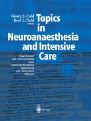 Topics in Neuroanaesthesia and Neurointensive Care