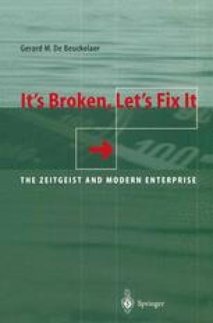 It's Broken, Let's Fix It
