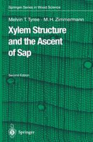 Xylem Structure and the Ascent of Sap