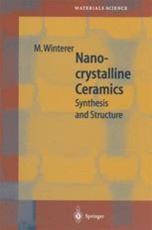 Nanocrystalline Ceramics