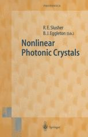 Nonlinear Photonic Crystals