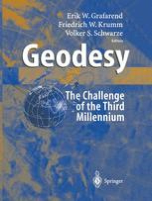 Geodesy-The Challenge of the 3rd Millennium