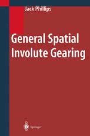 General Spatial Involute Gearing