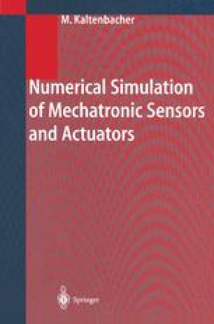 Numerical Simulation of Mechatronic Sensors and Actuators