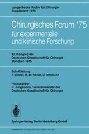 92. Kongreß der Deutschen Gesellschaft für Chirurgie, München, 7.–10. Mai 1975