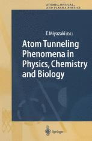 Atom Tunneling Phenomena in Physics, Chemistry and Biology