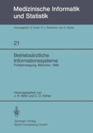 Betriebsärztliche Informationssysteme