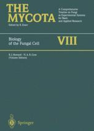 Biology of the Fungal Cell
