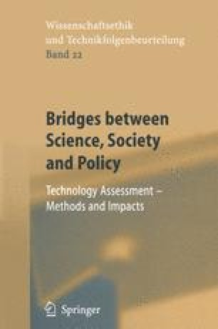 Bridges between Science, Society and Policy
