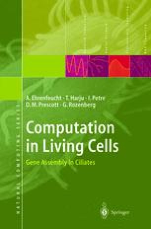 Computation in Living Cells