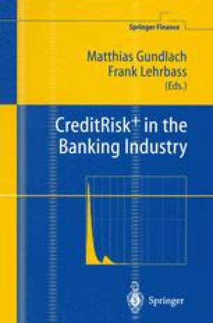 CreditRisk+ in the Banking Industry