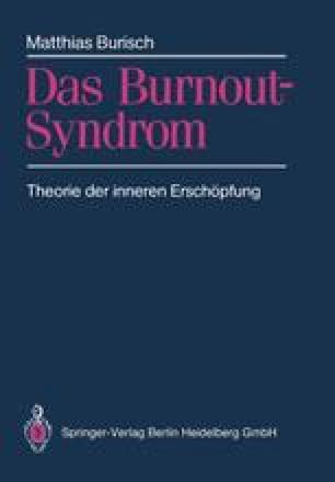 Das Burnout-Syndrom