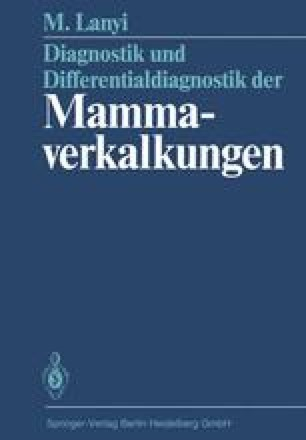 Diagnostik und Differentialdiagnostik der Mammaverkalkungen