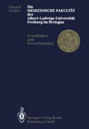 Die Medizinische Fakultät der Albert-Ludwigs-Universität Freiburg im Breisgau