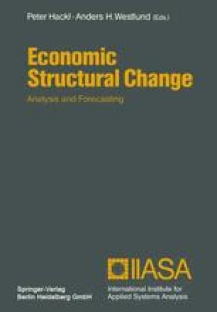 Economic Structural Change