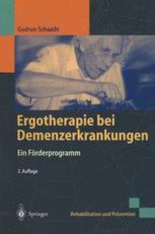 Ergotherapie bei Demenzerkrankungen