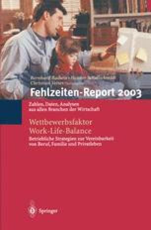 Fehlzeiten-Report 2003