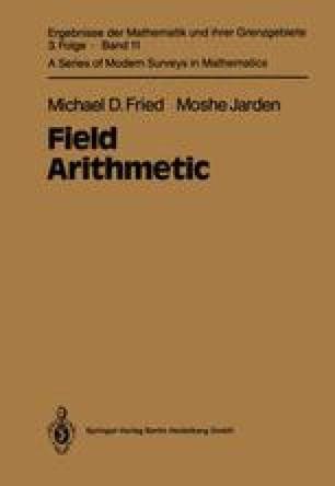Field Arithmetic