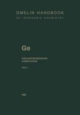 Ge Organogermanium Compounds